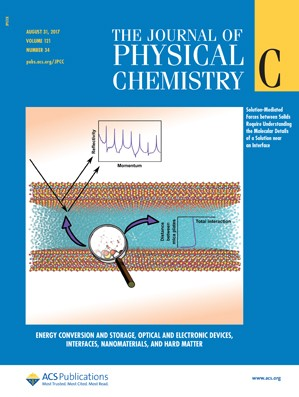 Journal of Physical Chemistry C: Volume 121, Issue 34