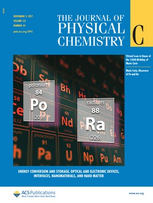 Journal of Physical Chemistry C: Volume 121, Issue 44