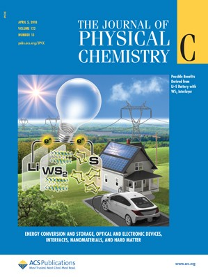 Journal of Physical Chemistry C: Volume 122, Issue 13