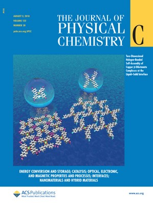 Journal of Physical Chemistry C: Volume 122, Issue 30