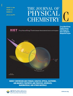 Journal of Physical Chemistry C: Volume 122, Issue 32