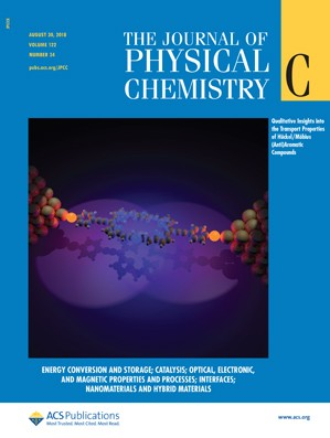 Journal of Physical Chemistry C: Volume 122, Issue 34