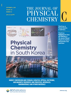 Journal of Physical Chemistry C: Volume 122, Issue 35