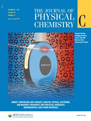 Journal of Physical Chemistry C: Volume 122, Issue 43