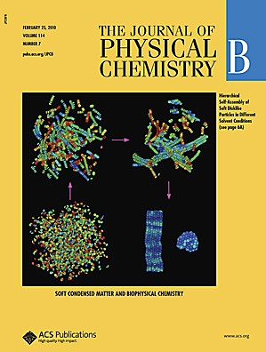 The Journal of Physical Chemistry B: Volume 114, Issue 7