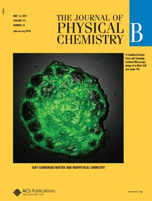 The Journal of Physical Chemistry B: Volume 114, Issue 18