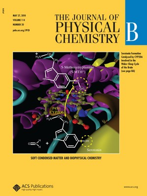 The Journal of Physical Chemistry B: Volume 114, Issue 20