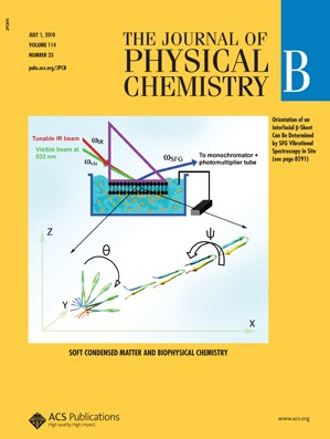 The Journal of Physical Chemistry B: Volume 114, Issue 25