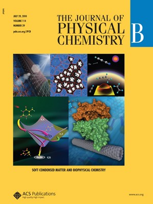 The Journal of Physical Chemistry B: Volume 114, Issue 29