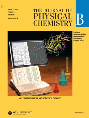 The Journal of Physical Chemistry B: Volume 114, Issue 32