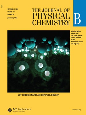 The Journal of Physical Chemistry B: Volume 114, Issue 34