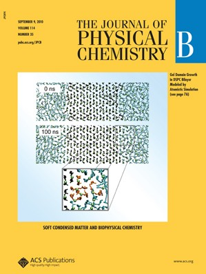 The Journal of Physical Chemistry B: Volume 114, Issue 35