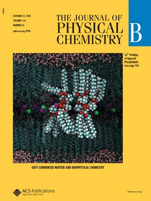 The Journal of Physical Chemistry B: Volume 114, Issue 41