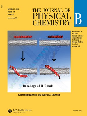 The Journal of Physical Chemistry B: Volume 114, Issue 44