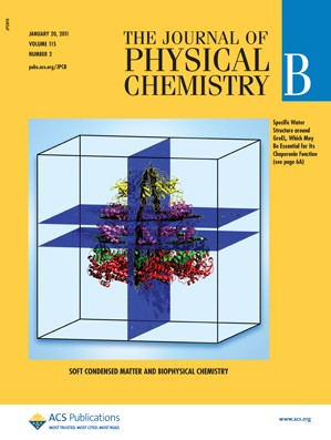 The Journal of Physical Chemistry B: Volume 115, Issue 2