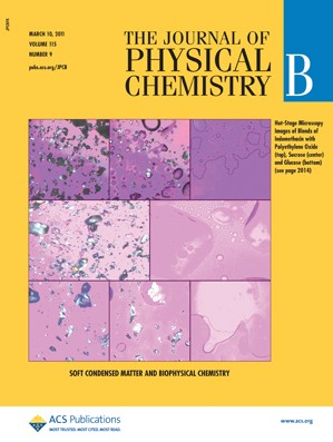 The Journal of Physical Chemistry B: Volume 115, Issue 9