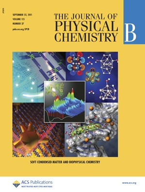 The Journal of Physical Chemistry B: Volume 115, Issue 37
