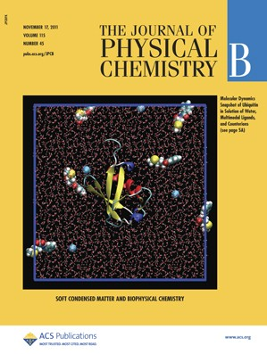 The Journal of Physical Chemistry B: Volume 115, Issue 45
