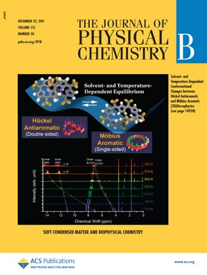 The Journal of Physical Chemistry B: Volume 115, Issue 50