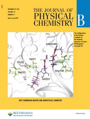 The Journal of Physical Chemistry B: Volume 115, Issue 51