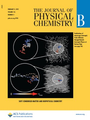 The Journal of Physical Chemistry B: Volume 116, Issue 4
