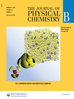 The Journal of Physical Chemistry B: Volume 116, Issue 5