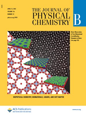 The Journal of Physical Chemistry B: Volume 116, Issue 14