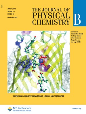 The Journal of Physical Chemistry B: Volume 116, Issue 15