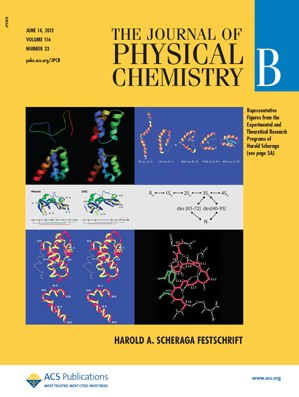 The Journal of Physical Chemistry B: Volume 116, Issue 23