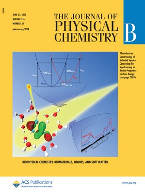 The Journal of Physical Chemistry B: Volume 116, Issue 24