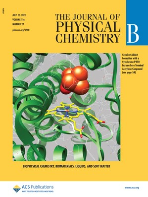 The Journal of Physical Chemistry B: Volume 116, Issue 27