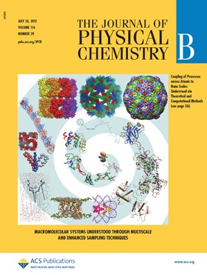 The Journal of Physical Chemistry B: Volume 116, Issue 29