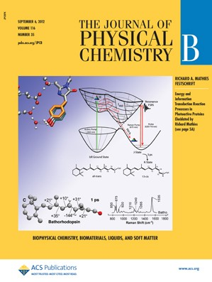 The Journal of Physical Chemistry B: Volume 116, Issue 35