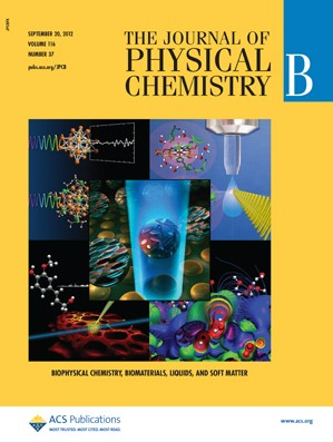 The Journal of Physical Chemistry B: Volume 116, Issue 37