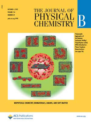 The Journal of Physical Chemistry B: Volume 116, Issue 39