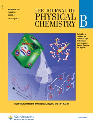 The Journal of Physical Chemistry B: Volume 116, Issue 44