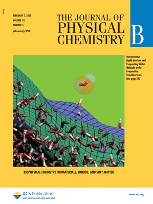 The Journal of Physical Chemistry B: Volume 117, Issue 5
