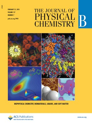 The Journal of Physical Chemistry B: Volume 117, Issue 7