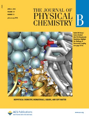 The Journal of Physical Chemistry B: Volume 117, Issue 13