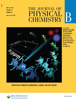 The Journal of Physical Chemistry B: Volume 117, Issue 20