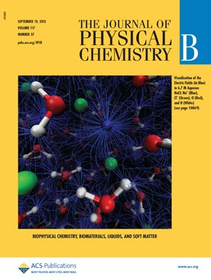 The Journal of Physical Chemistry B: Volume 117, Issue 37