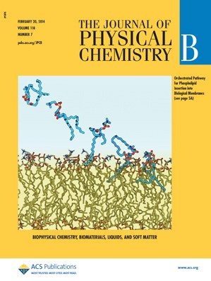 The Journal of Physical Chemistry B: Volume 118, Issue 7