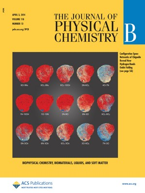 The Journal of Physical Chemistry B: Volume 118, Issue 13