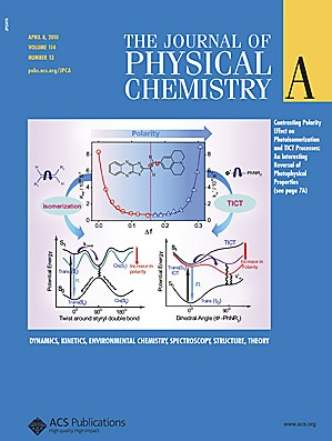 The Journal of Physical Chemistry A: Volume 114, Issue 13