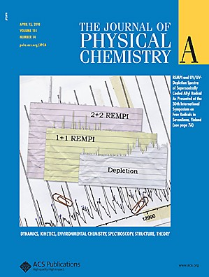 The Journal of Physical Chemistry A: Volume 114, Issue 14
