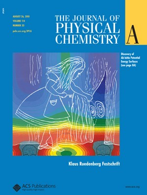 The Journal of Physical Chemistry A: Volume 114, Issue 33