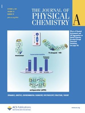 The Journal of Physical Chemistry A: Volume 115, Issue 39