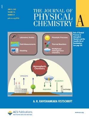 The Journal of Physical Chemistry A: Volume 116, Issue 24