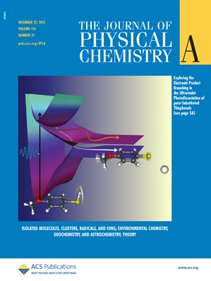 The Journal of Physical Chemistry A: Volume 116, Issue 51