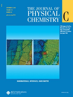The Journal of Physical Chemistry C: Volume 114, Issue 35
